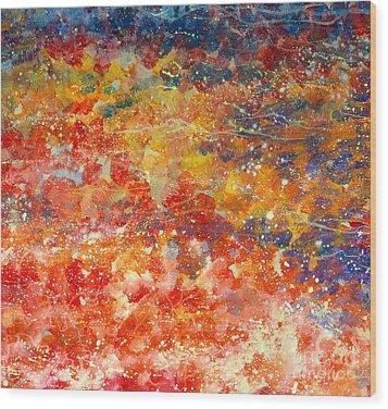 Abstract 2. Wood Print
