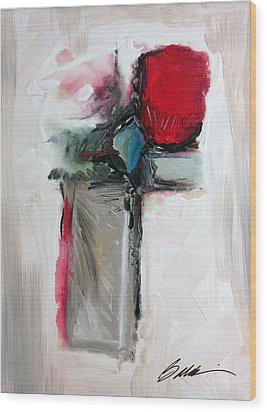 Abstract 200709 Wood Print