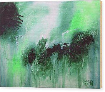Abstract 2013013 Wood Print