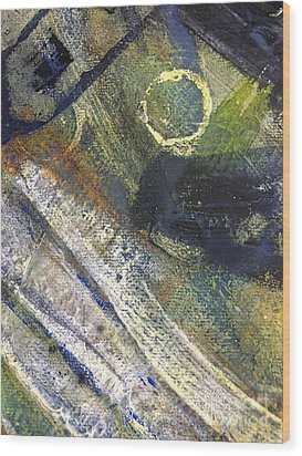 Abstract 22.2 Wood Print by Shelley Graham Turner