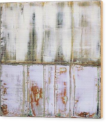 Art Print Abstract 79 Wood Print