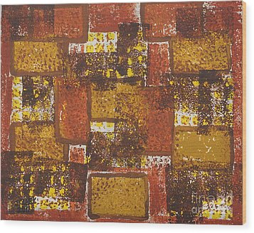 Abstract_ Fall  Wood Print