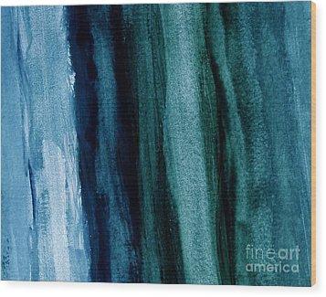 Abstract Hues Wood Print by Marsha Heiken