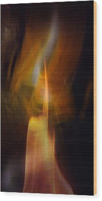 Abstract Light Wood Print