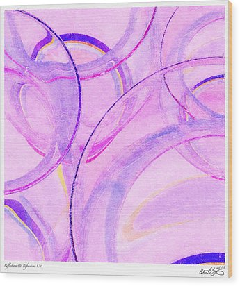 Abstract Number 20 Wood Print by Peter J Sucy
