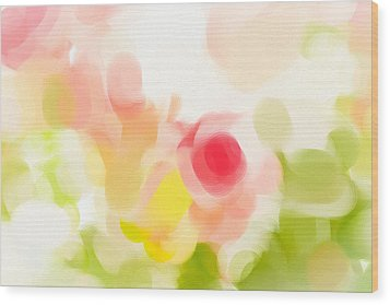Abstract Roses Wood Print by Tom Gowanlock