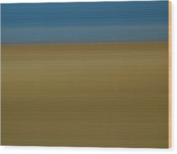 Abstract Seascape 2 Wood Print by Juergen Roth