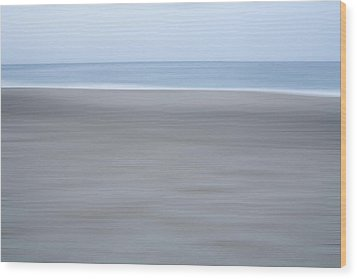 Abstract Seascape No. 10 Wood Print