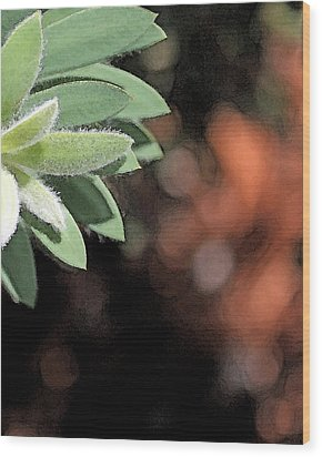 Wood Print featuring the photograph Abstract Watercolor by Judy Vincent