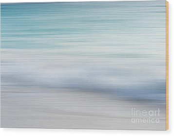 Wood Print featuring the photograph Abstract Wave Photograph by Ivy Ho