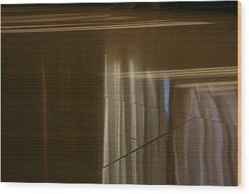 Abstract..0ne Wood Print by Deepak Pawar