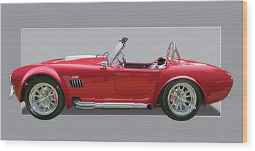 Ac Cobra Wood Print