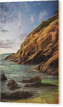 Acadia National Park--maine Wood Print