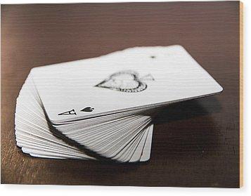 ACE Wood Print by Hyuntae Kim