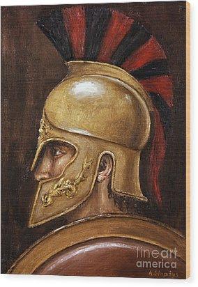 Achilles Wood Print