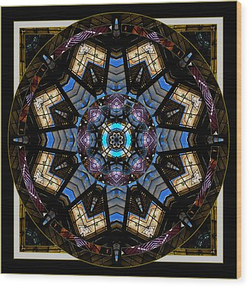 Acme 2 Wood Print by Willa Davis
