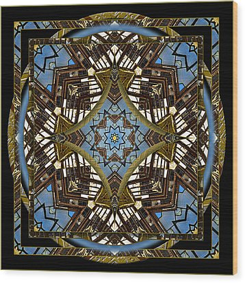 Acme 3 Wood Print by Willa Davis