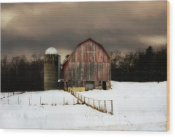 Wood Print featuring the photograph Acorn Acres by Julie Hamilton