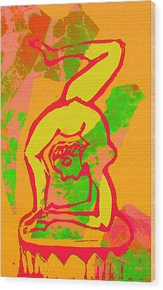 Acrobat 1 Wood Print by Adam Kissel