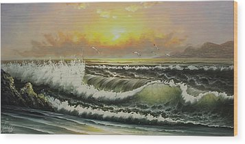 Acrylic Msc 148 Wood Print