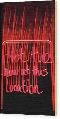 Wood Print featuring the photograph Ad by Cyryn Fyrcyd