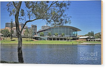 Adelaide Convention Centre Wood Print by Stephen Mitchell