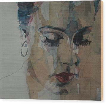 Adele - Make You Feel My Love  Wood Print