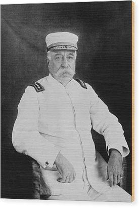Admiral George Dewey Wood Print by War Is Hell Store