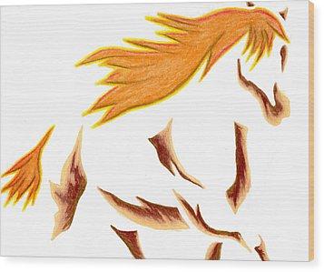 Adobe Dance Wood Print by Mark Schutter
