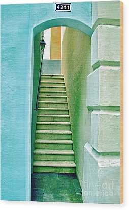 Adobe Series Wood Print by Wendy Mogul