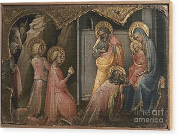 Adoration Of The Kings Wood Print by Granger