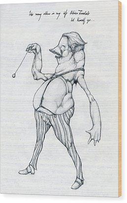 Adrian Tinsdale Wood Print by Alexander M Petersen