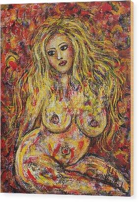 Adrianna Wood Print