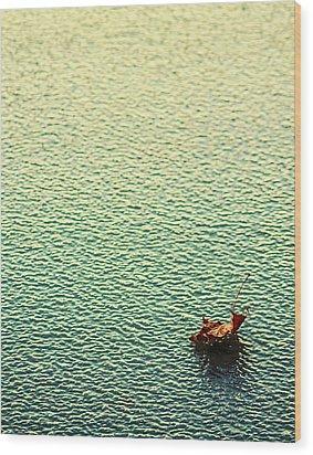 Adrift In A Sea Of Ennui Wood Print