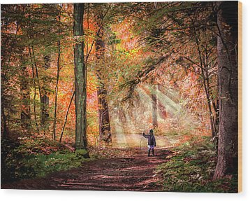 Adventure Wood Print