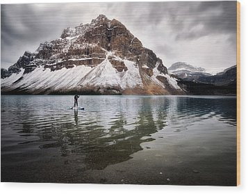 Adventure Unlimited Wood Print by Nicki Frates