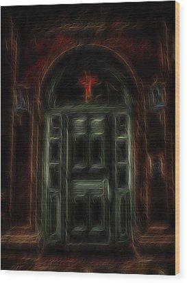 Adytum Wood Print by William Horden