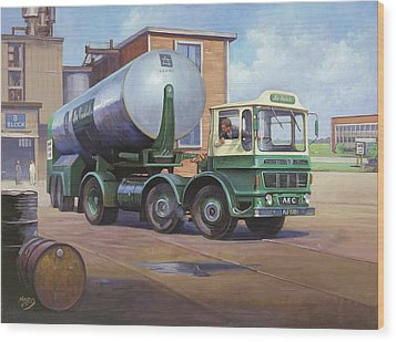 Aec Air Products Wood Print by Mike  Jeffries