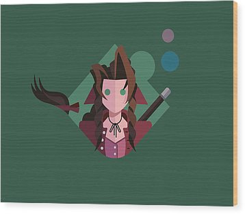 Aeris Wood Print by Michael Myers