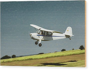 Wood Print featuring the photograph Aeronca 7a C by James Barber
