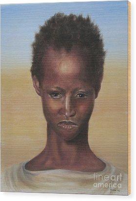 Africa Wood Print by Annemeet Hasidi- van der Leij