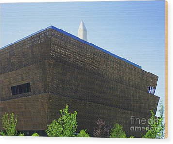African American History And Culture 1 Wood Print by Randall Weidner