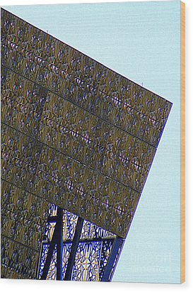 African American History And Culture 4 Wood Print by Randall Weidner
