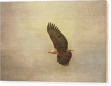 African Fish Eagle Wood Print
