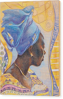 African Secession Wood Print