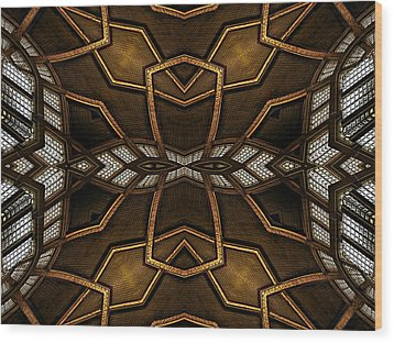 After Deco 11 Wood Print by Wendy J St Christopher