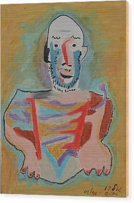 After Picasso Wood Print by Harris Gulko