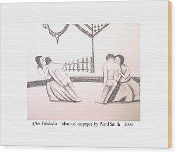 After Pilobolus Wood Print by Ward Smith