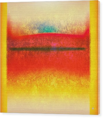 After Rothko 8 Wood Print by Gary Grayson