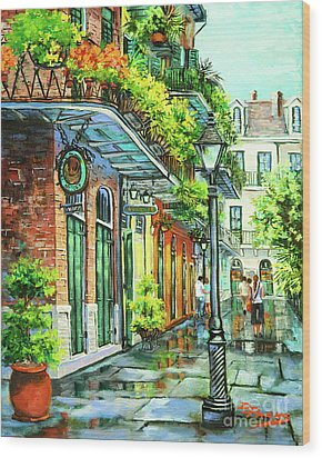 After The Rain Wood Print by Dianne Parks